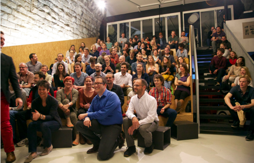 Bei Wahre Geschichten ist immer Full House im Impact Hub Zürich