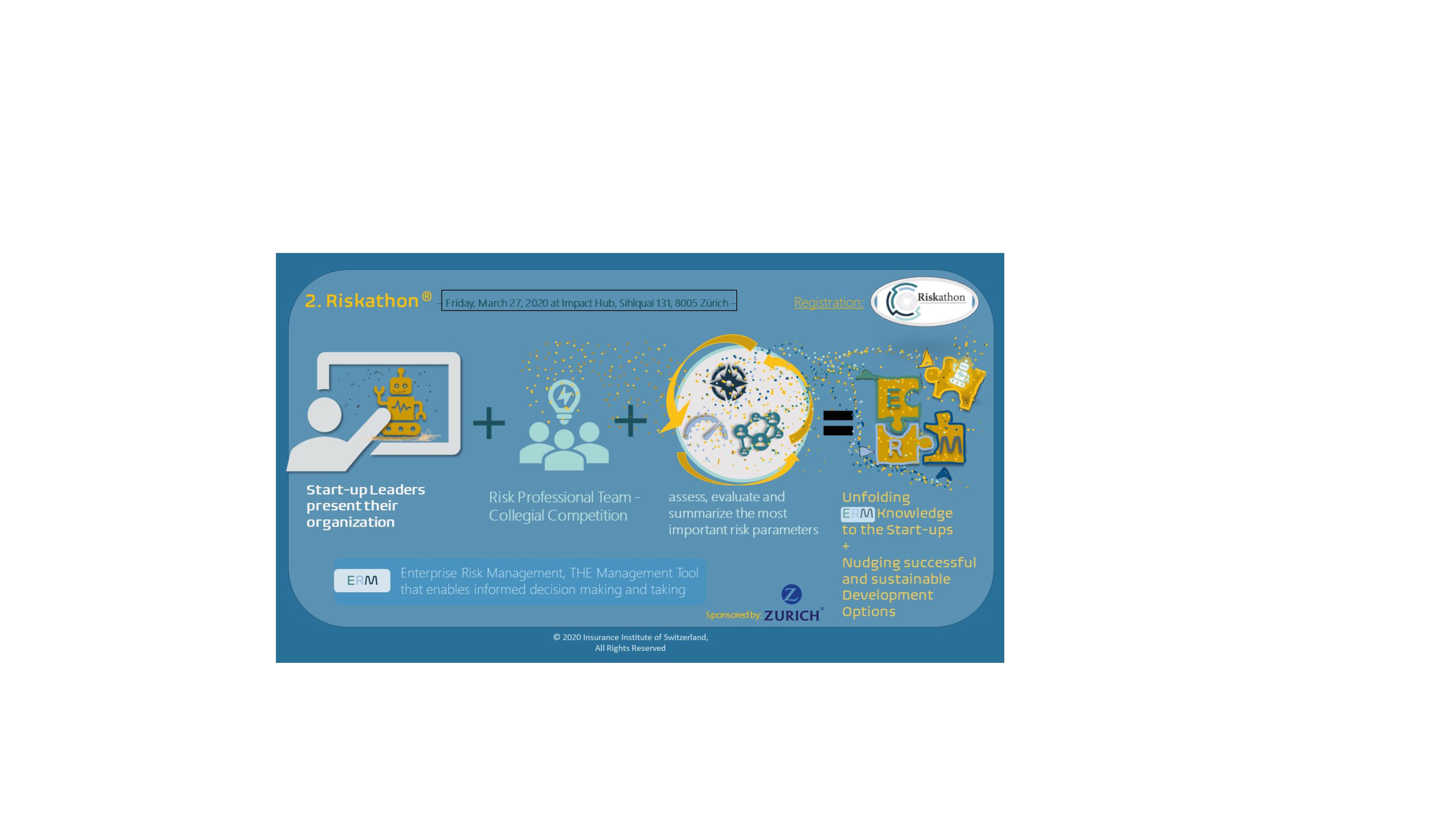 Riskathon infographic